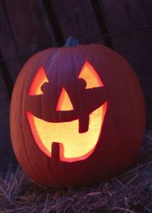The only carved pumpkin I care to deal with this year!