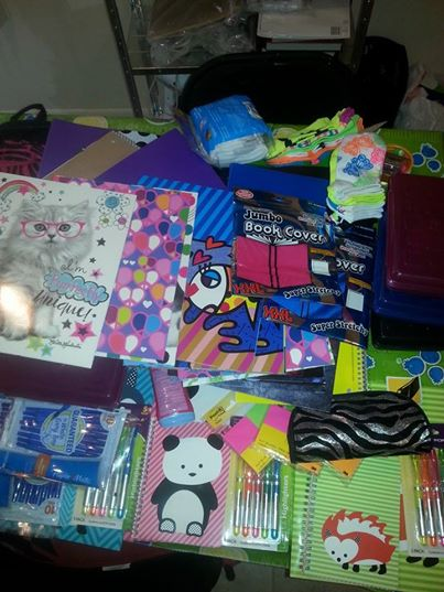 School Supplies 8-30-2014