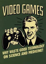Funny video games quote