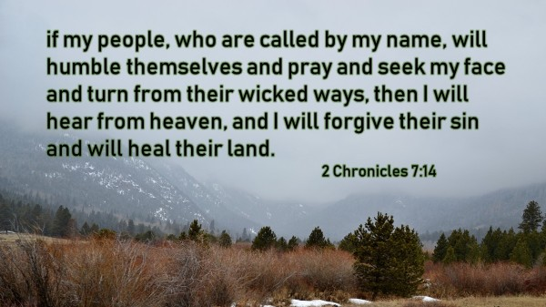 Prayer Quote 2 Chronicles 7 14